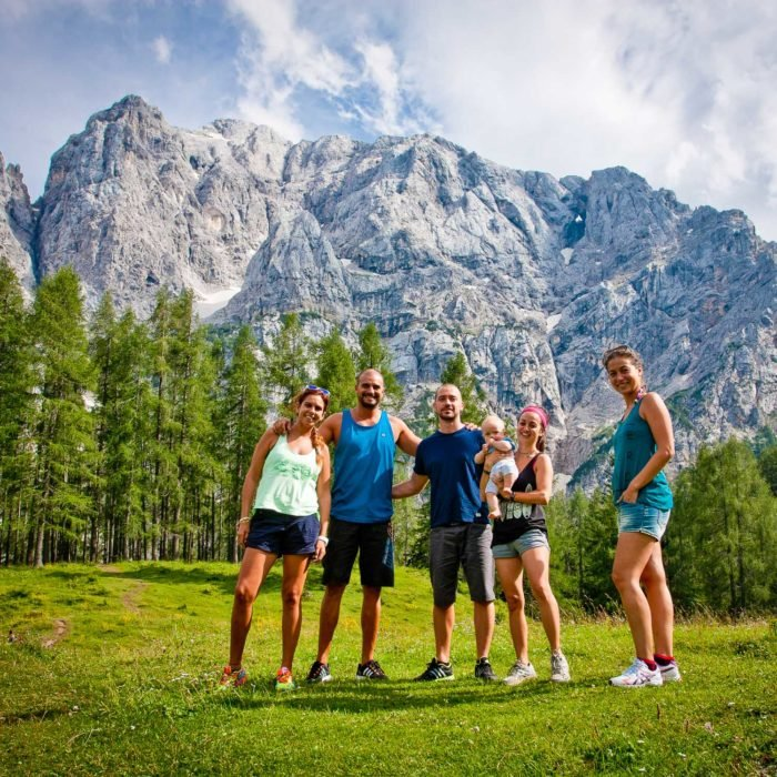 Day trip in the Julian Alps in Slovenia